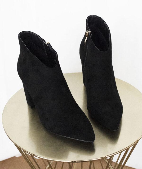 Zwarte enkellaarsjes