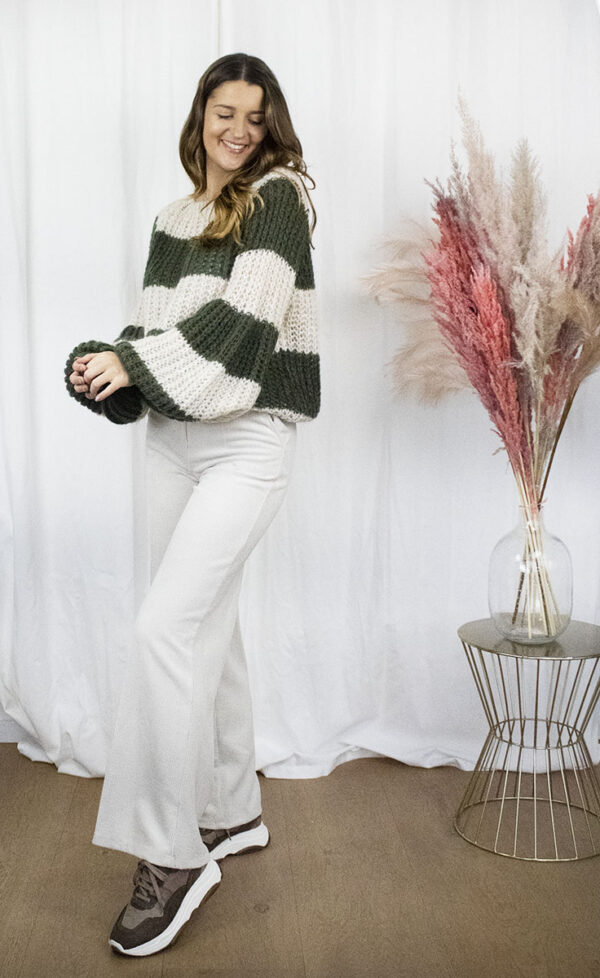 Fashion broek knitwear online shop