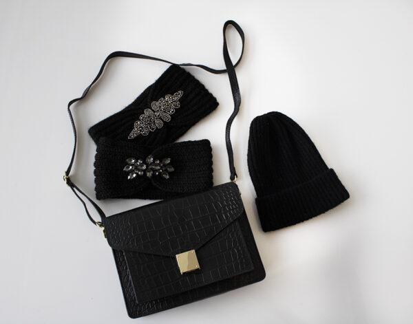 Mutsen dames accessoires handtas haarband