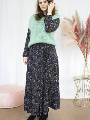 Lang kleed dameskleding online hemdsjurk débardeur