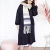 Kleedje jurk sweaterjurk homewear dameskleding sjaall