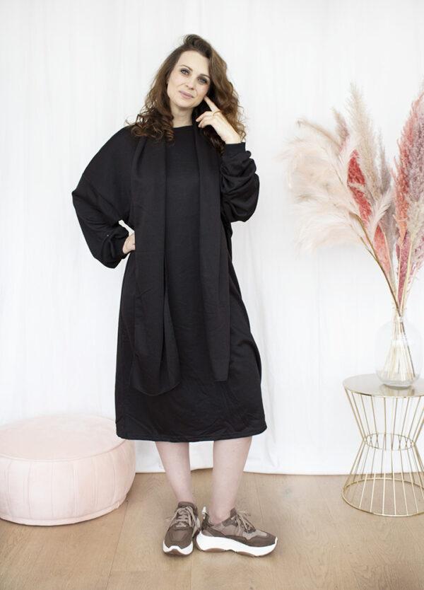 Kleedje jurk sweaterjurk homewear dameskleding