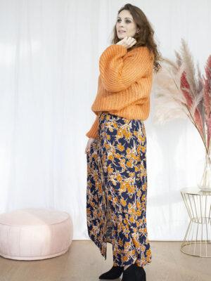 Lang kleed dameskleding online hemdsjurk knitwear